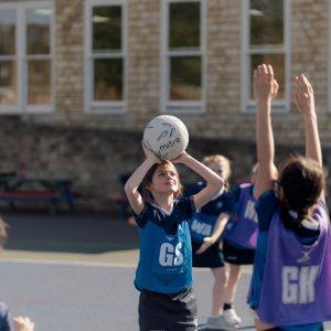 Netball at Micklefield School