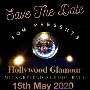 Flyer for Hollywood Glamour Ball